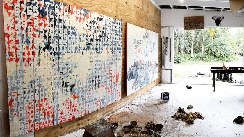 John William Bailly's Miami Studio