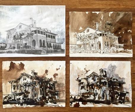 """""""Deering Estate Studies"""" by John William Bailly"""