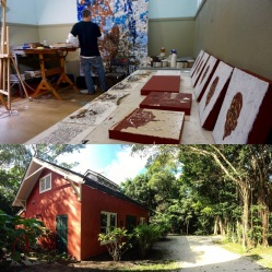 JW Bailly's Power House Studio at Deering Estate (Photos: V. Villa & JW Bailly CC BY 4.0)