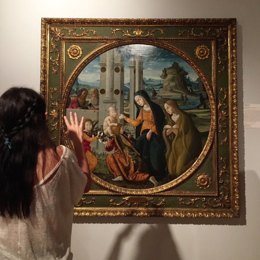 Gina Martins of FIU at the Lowe Art Museum at UM (Photo by JW Bailly CC BY 4.0)