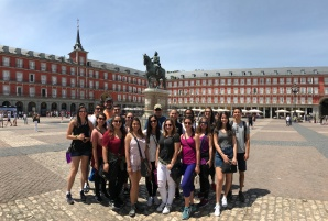 FIU España 2017 on Plaza Mayor in Madrid (Photo by JW Bailly CC BY 4.0)