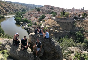 FIU España 2017 hike in Toledo. (Photo by JW Bailly CC BY 4.0)