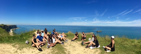 France study Abroad in Normandy.