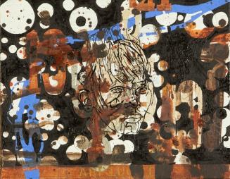 JW Bailly. Arpiucki, 2017. Oil on canvas. 11 x 14 in/28 x 36 cm. Courtesy of LnS Gallery.