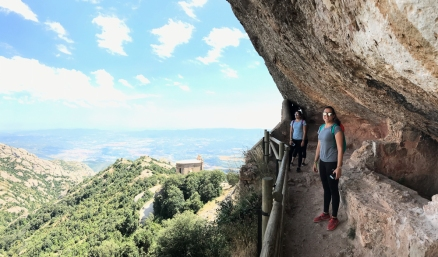 Hike in Montserrat (Photo by JW Bailly CC BY 4.0)