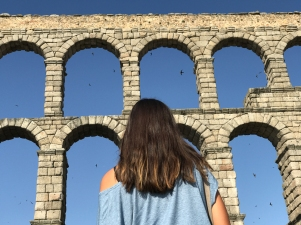 The Aqueduct of Segovia (Photo by JW Bailly CC BY 4.0)