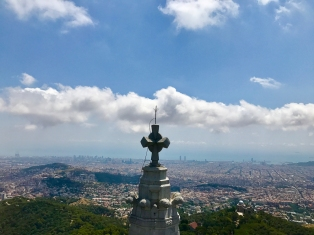 Barcelona seen from Tibidabo (Photo by JW Bailly CC BY 4.0)