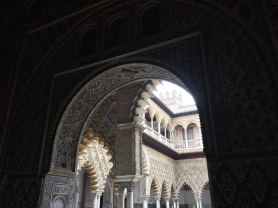 Real Alcazar de Sevilla (Photo by JW Bailly CC BY 4.0)