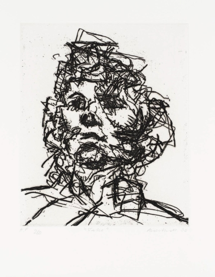 Jake 1990 Frank Auerbach born 1931 Presented Anonymously 1994 http://www.tate.org.uk/art/work/P20090