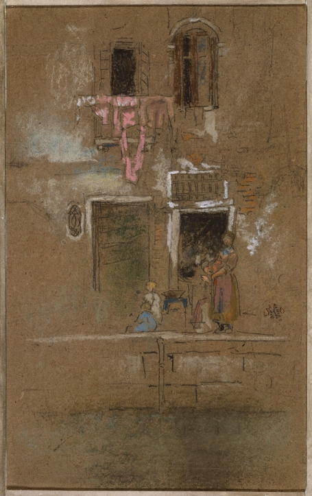 Working Title/Artist: Note in Pink and Brown Department: Am. Paintings / Sculpture Culture/Period/Location: HB/TOA Date Code: Working Date: ca. 1880 photography by mma, Digital File DT11613.tif retouched by film and media (jnc) 4_20_10