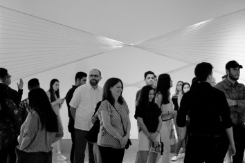 A&V 2018 of the FIU Honors College at the Frost Art Museum (Photo by Galina Abdel Aziz CC BY 4.0)