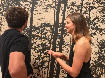 A&V 2018 reception at Frost Art Museum (Photo by JW Bailly CC BY 4.0)