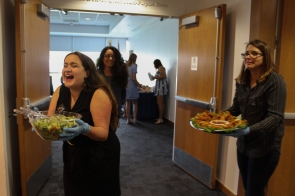 A&V 2018 reception at Frost Art Museum (Photo by Ligia Filgueiras CC BY 4.0)