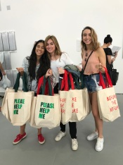FIU Honors students of PAC 2017-2018 at UNTITLED Miami Beach © John William Bailly (CC by 4.0)
