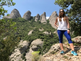 Kristy Aguirre of FIU in Montserrat. (Photo by JW Bailly CC BY 4.0)